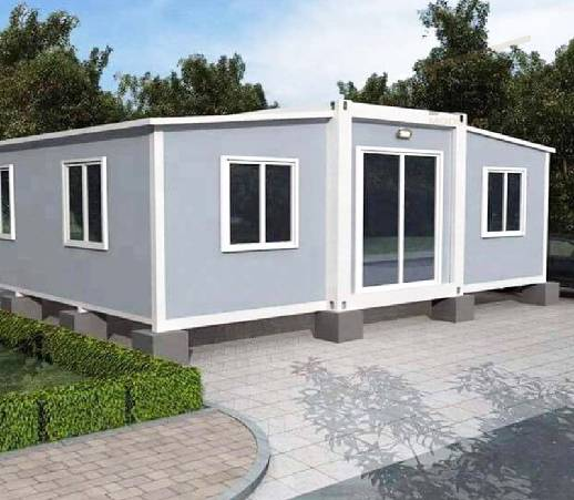 Expanded Container House