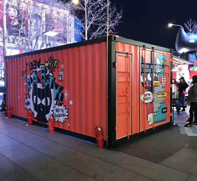 New Design Shipping Container Showroom 20Ft/40Ft Shipping Container House