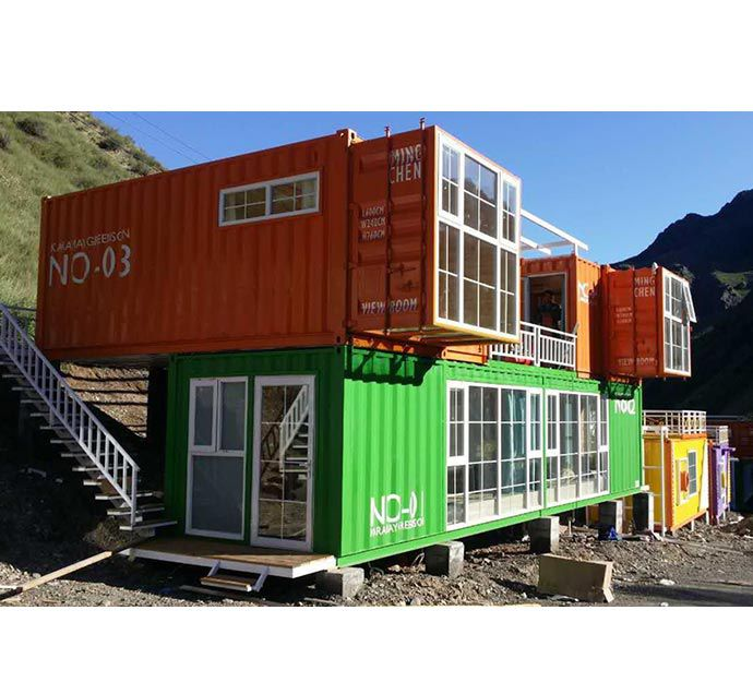 Container Home prefab shipping container home for campsite container living home