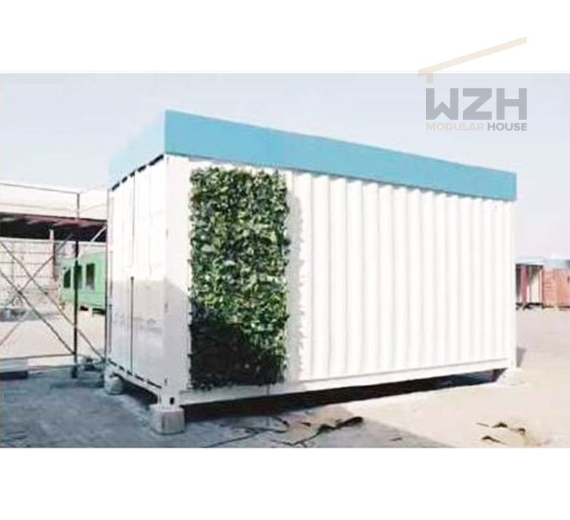 Customized Modern Design prefab 20ft 40ft Container Office Showroom shop