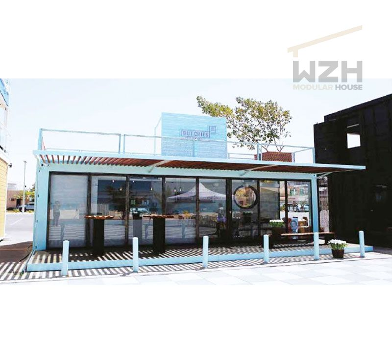 2019 Most hot luxury modular prefab shipping container restaurant coffee bar