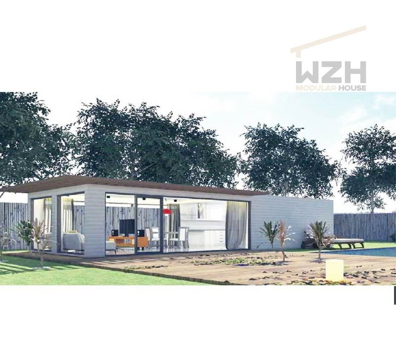 Steel Frame Beautiful design shipping container homes/house