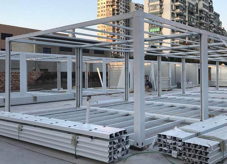 Low Cost Shipping Container Prefabricated Shops Stores container building