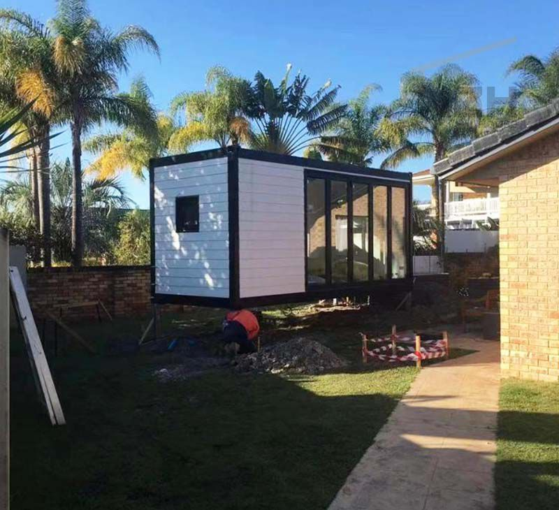 Luxury Mobile home modified living house container tiny houses For Show Room/office/homes