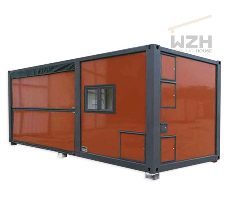 Luxury solar power expandable container house Prefab Building Materials Shipping Container Homes