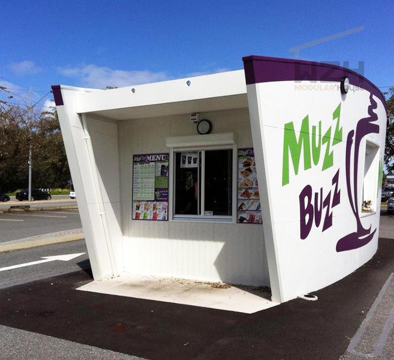 Modern looking Modular House Coffee shop Prefabricated Modular House