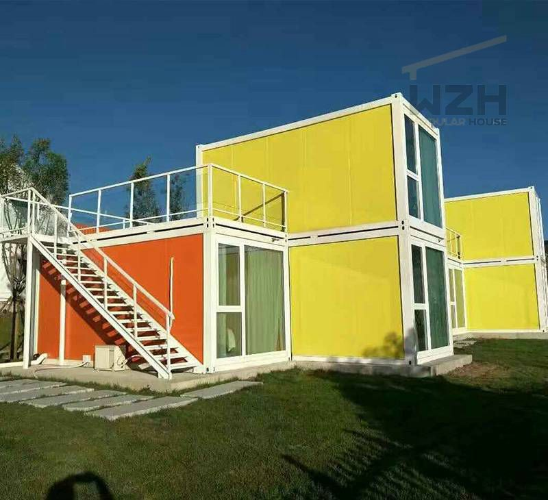 Prefabricated Container House Prefab Modern Modular Container Hotels/Village/House