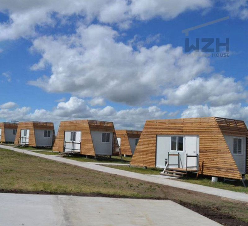 Portable Flat Pack Container House Cottage in Inner Mogolia