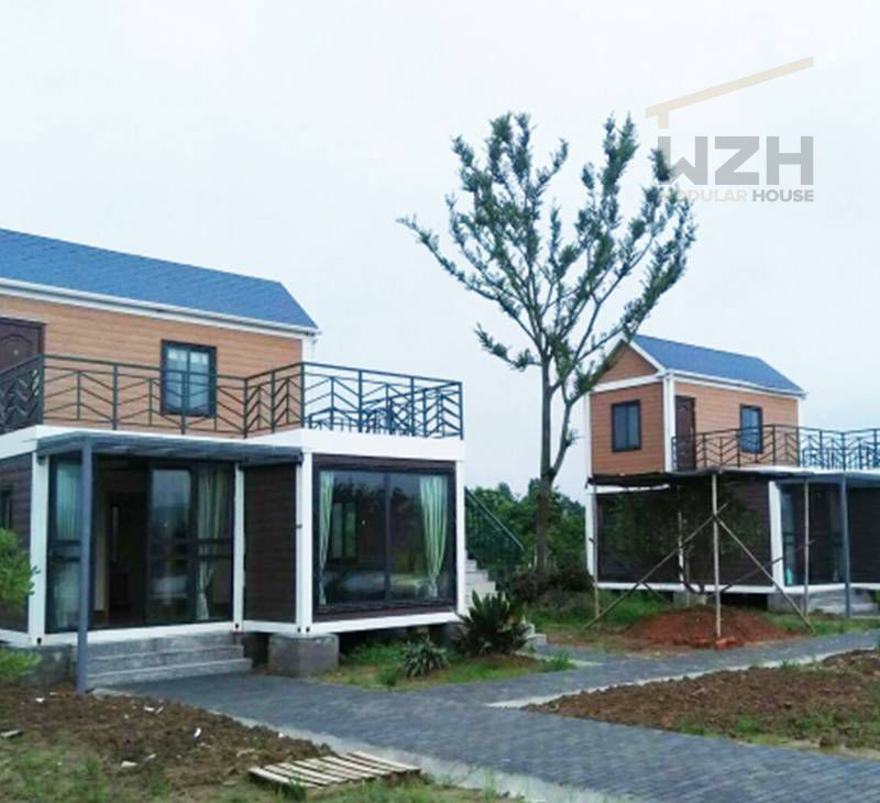 China Supplier Prefab Flat Pack Design Container House For Hotel