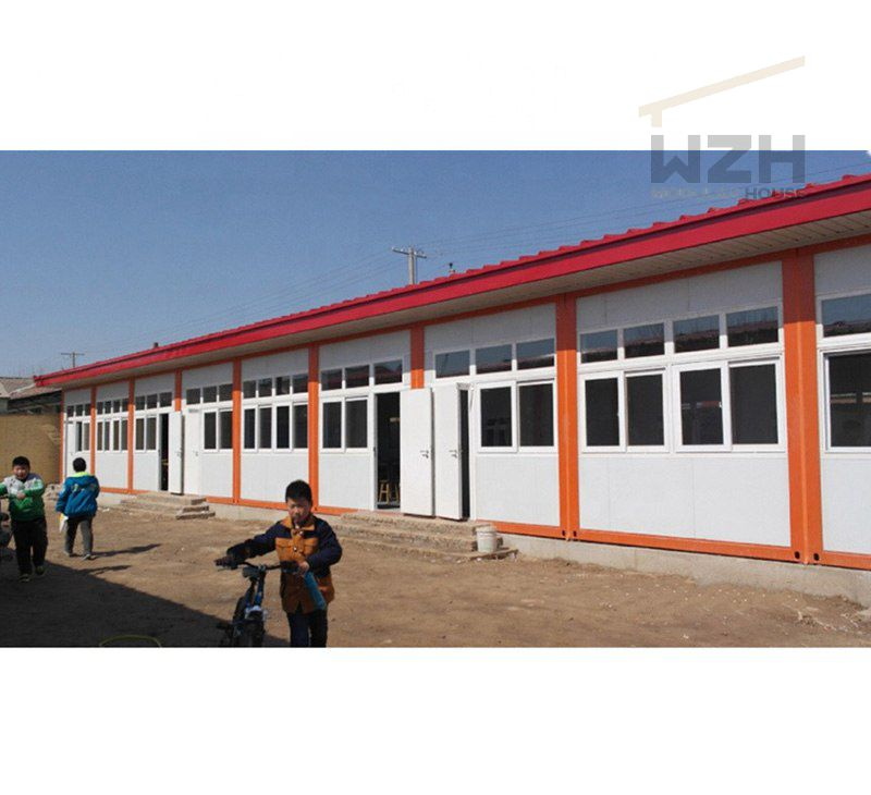 Prefabricated Homes Flat Pack Container House For School