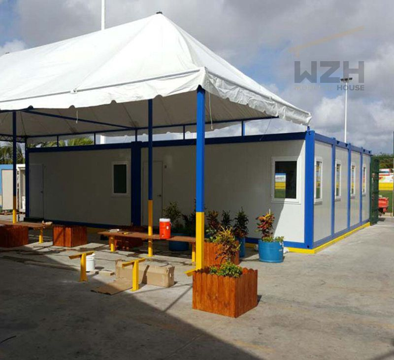 New Design China Flat Pack Container House Prefab Cabin For School