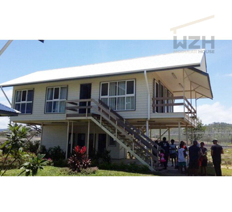 Residential Sustainable Container House Flat Pack Prefabricated Designs Ready Made House