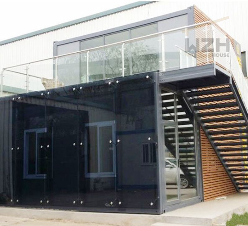 New Design China Flat Pack Container House Prefab Cabin For Office
