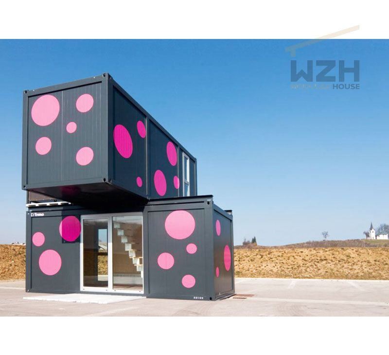 China 20ft flat pack container house/prefab container house/living container house