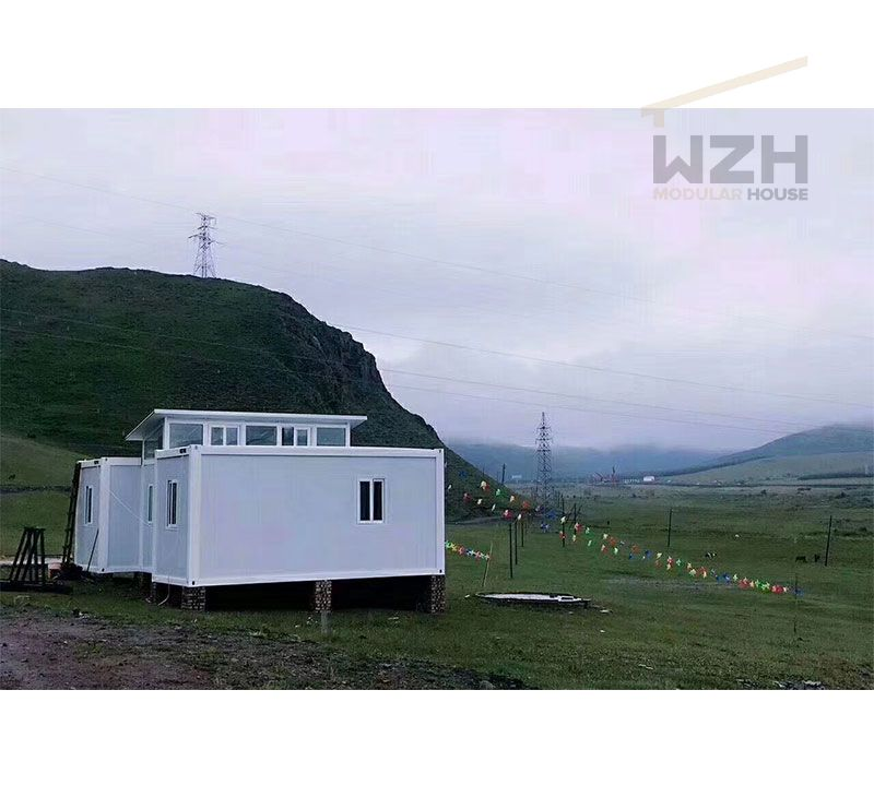 China flat pack container houses container easy assembled house