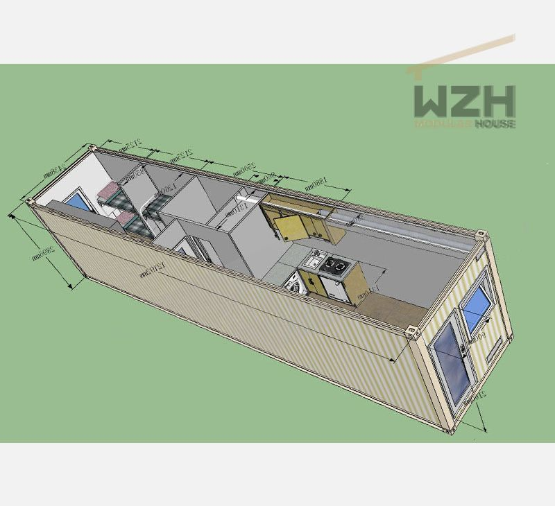 Best Selling Fast Install Container House/Standard Prefabricated Luxury container Home
