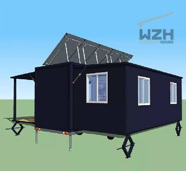 The Expandable House is Designed Around The Following Five Principles