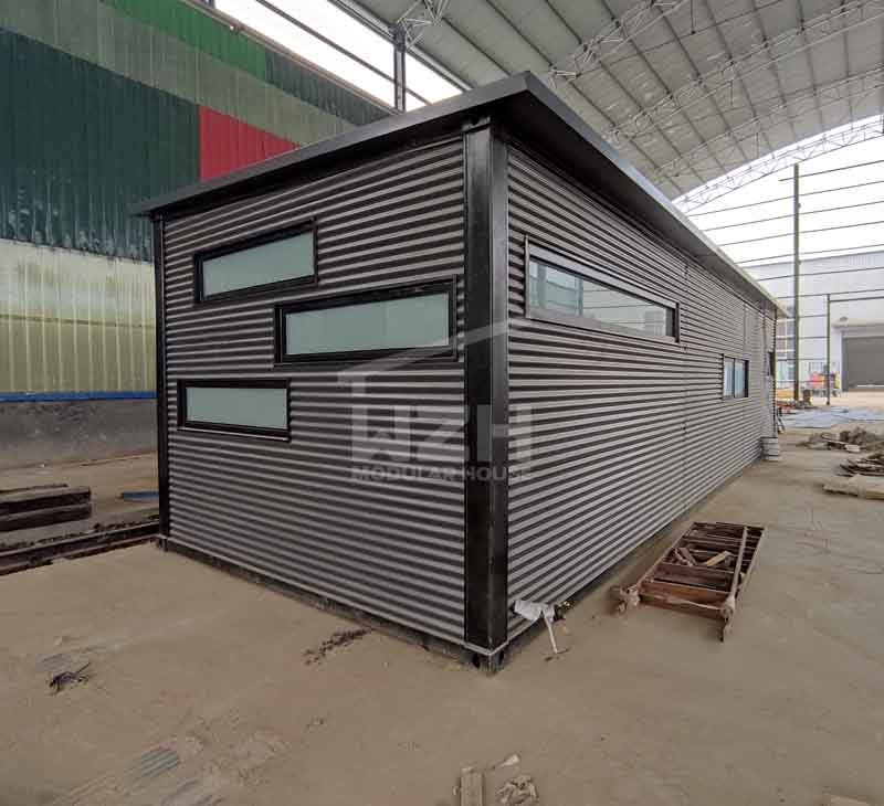 Modified Shipping Container House